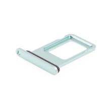 Rámeček / šuplík na Nano SIM pro Apple iPhone 11 - zelený - kvalita A+