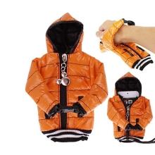 Ochranné pouzdro oranžová bunda s kapucí se šňůrkou na krk pro Apple iPhone / iPod a podobná zařízení