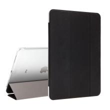 """Pouzdro / kryt pro Apple iPad Pro 11"""" (2018) - funkce chytrého uspání + stojánek - černé / průsvitná záda"""