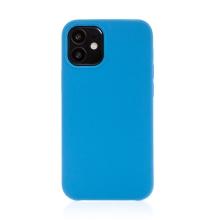 Kryt pro Apple iPhone 12 mini - gumový - příjemný na dotek - modrý