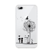 Kryt pro Apple iPhone 7 Plus / 8 Plus - gumový - pár a pampeliška