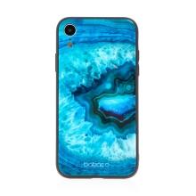 Kryt BABACO pro Apple iPhone Xr - skleněný - Akvamarín