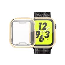 Kryt pro Apple Watch 4 / 5 / 6 / SE 40mm - zlatý - gumový