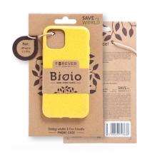 Kryt FOREVER BIOIO - pro Apple iPhone 11 Pro - Zero Waste kompostovatelný kryt - žlutý