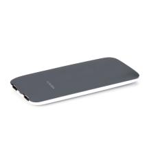 Externí baterie / power bank PURIDEA - 7000 mAh - 2x USB, 2A - bílá / šedá