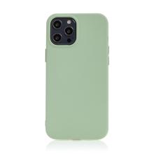 Kryt pro Apple iPhone 12 Pro Max - příjemný na dotek - silikonový - zelený