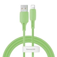 Synchronizační a nabíjecí kabel BASEUS - Lightning pro Apple zařízení - zelený - 1,2m