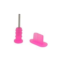 Antiprachové záslepky pro Apple iPhone - růžové