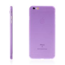 Kryt pro Apple iPhone 6 Plus / 6S Plus plastový tenký ochrana čočky fialový