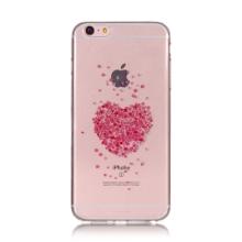 Kryt pro Apple iPhone 6 Plus / 6S Plus - srdce - gumový