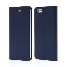 Pouzdro DUX DUCIS pro Apple iPhone 6 Plus / 6S Plus - stojánek + prostor pro platební kartu - tmavě modré