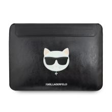 """Pouzdro KARL LAGERFELD pro Apple MacBook Pro 13"""" / Air 13"""" - Choupette - umělá kůže - černé"""