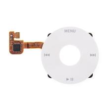 Click Wheel pro Apple iPod classic 6. / 7.gen. - bílý