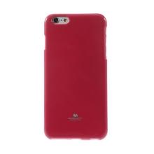 Kryt Mercury Goospery pro Apple iPhone 6 Plus / 6S Plus gumový - růžový s třpytivými prvky