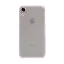 Kryt / obal pro Apple iPhone Xr - ochrana čočky - ultratenký - plastový - matný - světle šedý