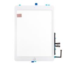 "Dotykové sklo (touch screen) pro Apple iPad 9,7"" (2018) + Home Button (osazené) - bílé - kvalita A+"
