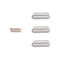 Sada postranních tlačítek / tlačítka pro Apple iPhone 6S (Power + Volume + Mute) - stříbrná (Silver) - kvalita A+