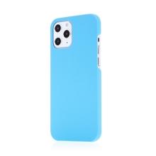 Kryt pro Apple iPhone 12 / 12 Pro - plastový - měkčený povrch - světle modrý