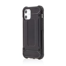 Kryt FORCELL Armor pro Apple iPhone 12 mini - plastový / gumový - černý