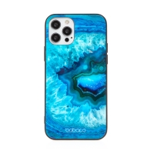 Kryt BABACO pro Apple iPhone 12 / 12 Pro - skleněný - Akvamarín