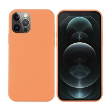 Kryt pro Apple iPhone 12 Pro Max - Magsafe - silikonový - mandarinkově oranžový