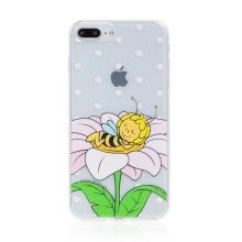 Kryt včelka Mája - pro Apple iPhone - 7 Plus / 8 Plus - gumový - průhledný - zasněná Mája