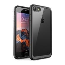 Kryt pro Apple iPhone 7 / 8 - odolné hrany - plastový / gumový - průhledný / černý
