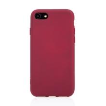 Kryt pro Apple iPhone 7 / 8 / SE (2020) - silikonový - vínový