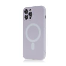 Kryt pro Apple iPhone 12 Pro Max - Magsafe - silikonový - fialový