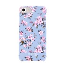 Kryt SO SEVEN Tokyo pro Apple iPhone 6 / 6S / 7 / 8 / SE (2020) - plastový - kvetoucí sakury / modrý
