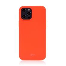 Kryt ROAR pro Apple iPhone 12 Pro Max - gumový - broskvově oranžový