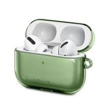 Pouzdro / obal USAMS pro Apple AirPods Pro - silikonové - zelené