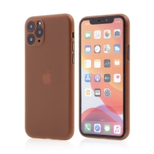 Kryt pro Apple iPhone 11 Pro Max  - s prvkem pro ochranu skla kamery - plastový - oranžový
