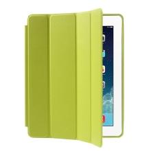 Pouzdro / kryt pro Apple iPad 2 / 3 / 4 - funkce chytrého uspání + stojánek - zelené