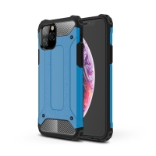 Kryt pro Apple iPhone 11 Pro Max - odolný - plastový / gumový - modrý