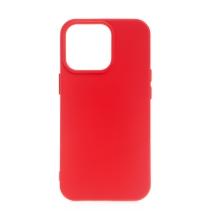 Kryt pro Apple iPhone 13 Pro Max - silikonový - červený