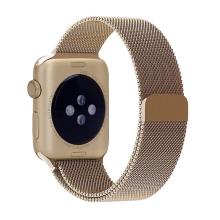 Řemínek pro Apple Watch 41mm / 40mm / 38mm - nerezový - zlatý