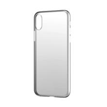 Kryt BASEUS pro Apple iPhone Xs - plastový - průhledný