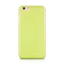 Tenký gumový kryt HOCO pro Apple iPhone 6 / 6S (tl. 0,6mm) - matný - zelený