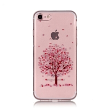 Kryt pro Apple iPhone 7 / 8 / SE (2020) - sakura - gumový