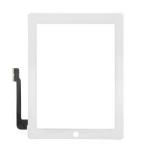 Dotykové sklo (touch screen) pro Apple iPad 3. / 4.gen. - bílé - kvalita A+