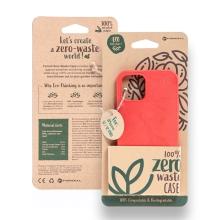 Kryt FORCELL BIO - pro Apple iPhone 12 / 12 Pro - Zero Waste kompostovatelný kryt - červený