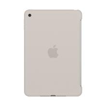 Originální kryt pro Apple iPad mini 4 - výřez pro Smart Cover - silikonový - kamenně šedý
