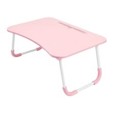 Stolek / podložka pod Apple MacBook + držák pro iPad - LTD lamino - růžový