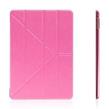 Pouzdro pro Apple iPad Pro 9,7 - variabilní stojánek a funkce chytrého uspání - růžové