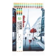 """Univerzální pouzdro / kryt pro tablet (9"""" - 10"""") - funkce stojánku - Paříž"""