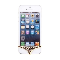 Leopardí tanga na Home Button pro Apple iPhone 4 / 4S / 5 / 5C / 5S / SE