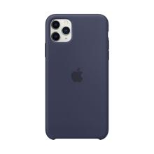 Originální kryt pro Apple iPhone 11 Pro Max - silikonový - půlnočně modrý