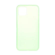 Kryt pro Apple iPhone 12 / 12 Pro - ultratenký - plastový - světle zelený