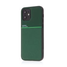 Kryt pro Apple iPhone 12 mini - vestavěný plíšek pro držáky - plastový / gumový - zelený